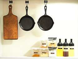 整頓されたキッチン