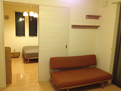 ミニマリストの部屋イメージ